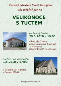 Zelenočtvrteční koncert TUCET